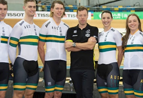 The Hong Kong Velodrome provided the backdrop for the official presentation  of the new kit created exclusively by Santini for the Australian national  ... db12c297e