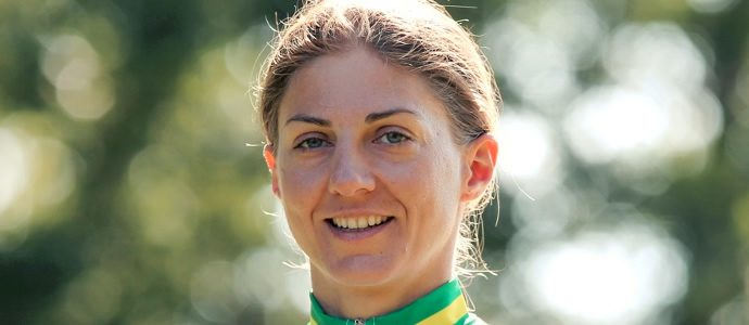 Katrin Garfoot grabs road race silver to claim two medals at Road Worlds