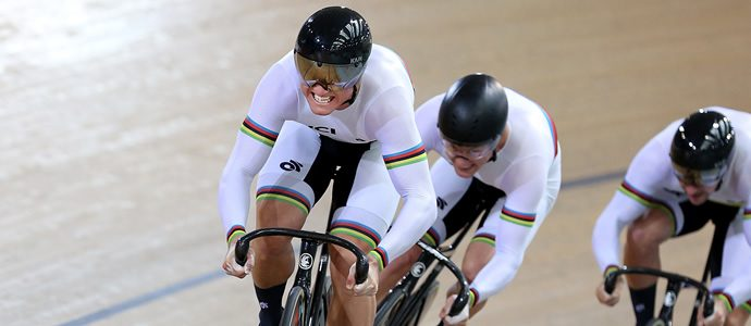 Kiwi Team Sprint World Champions produce stunning performance