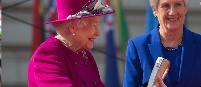 Queen's Baton coming