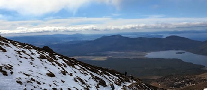 Safety message for those planning the Tongariro Alpine Crossing
