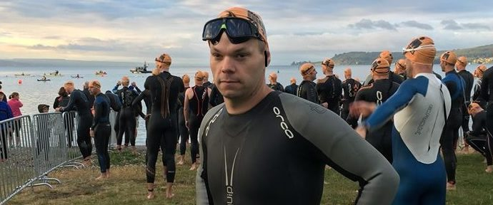 Frost admits nerves in lead up to Ironman NZ