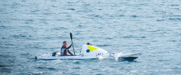 440Km to Go for Tasman Kayaker