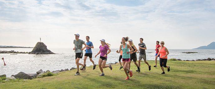 Sun to Surf Half Marathon launch