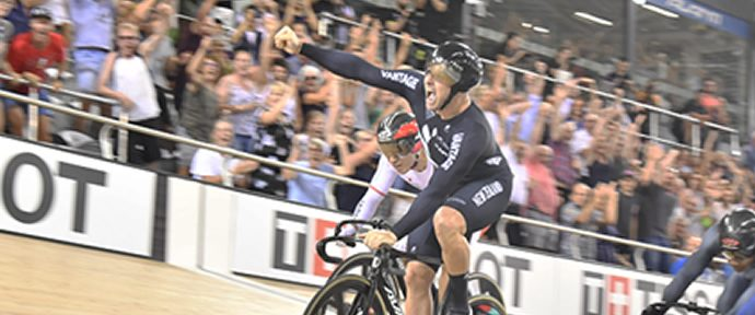 UCI Track Cycling World Cup - Two more gold medals for NZ cyclists