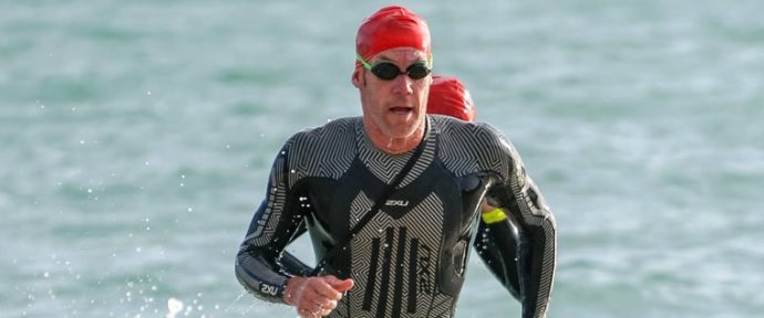 1st at the Barfoot and Thompson Triathlon series, Race 3