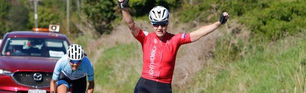 Older heads lead way in double header cycling weekend