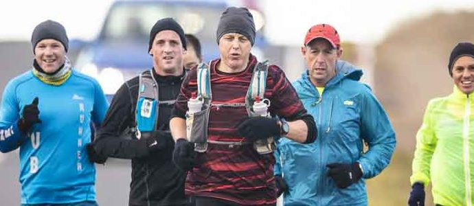 Wee training run