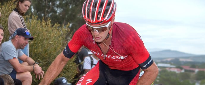 Gaze makes return from injury for mountain bike world cup