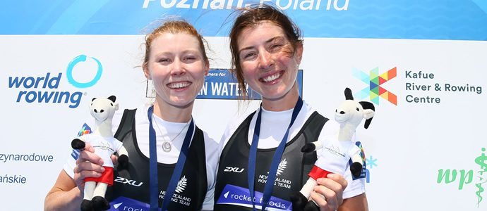 World Rowing Cup II - Gold for Kiwi's