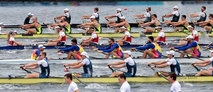 Nine New Zealand Rowing crews to finals World Cup