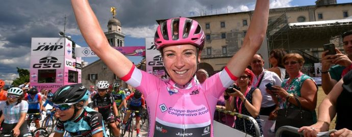 Van Vleuten claims a consecutive overall victory at the only women's Grand Tour - the Giro-Rosa