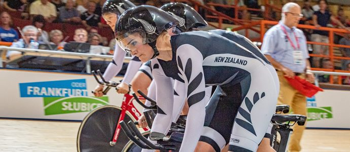 Kiwi team pursuit combinations chase medals in Germany