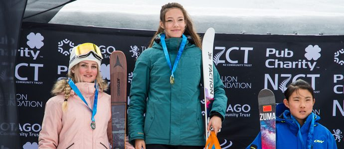 Ruby Andrews Second at NZ Freestyle Open Slopestyle