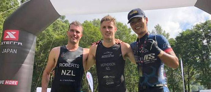 Kieran McPherson wins XTERRA Japan