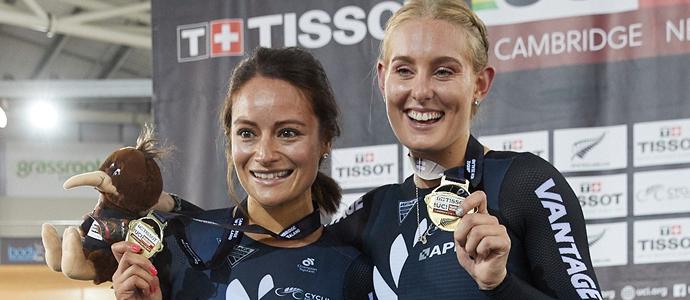 Golden start for Vantage New Zealand's women riders
