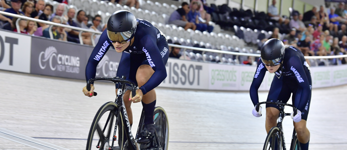 Tissot UCI Track Cycling World Cup in Cambridge Day 2
