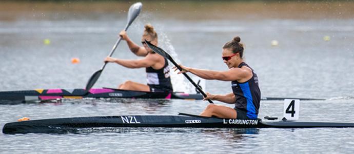 NZ Sprint Canoe Racing Champs - Carrington wins K1 500