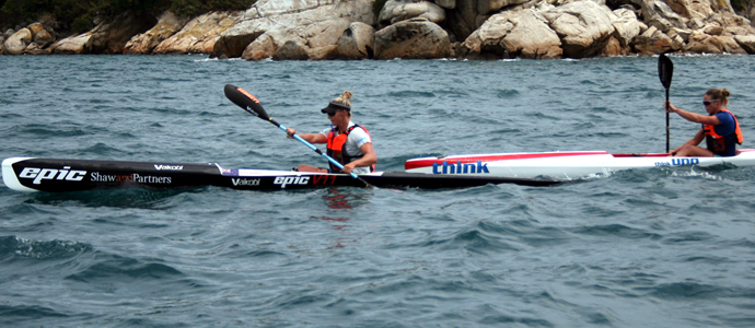 Key and Clarke crowned surfski royalty