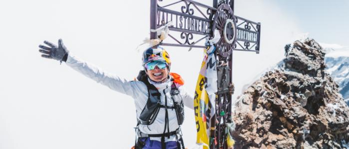 Matterhorn and Gran Paradiso double run for Maciel
